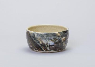 Tea Bowl Lone Walker Cumbrian Wood Ash and Minerals