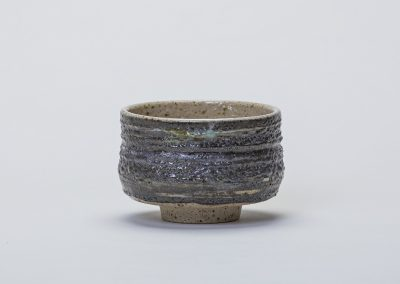 Tea Bowl with Coniston Slate and Florence Iron